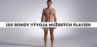 Vývoj mužských plaviek v priebehu 100 rokov. Dámy, pokochajte sa!
