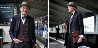 Sympatický, 104-ročný dedo ťa očarí svojím nadčasovým štýlom