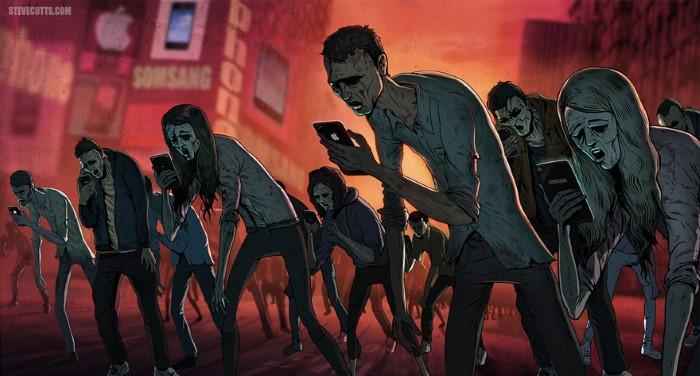 Steve Cutts ilustracie znazornujuce dnesny svet 1