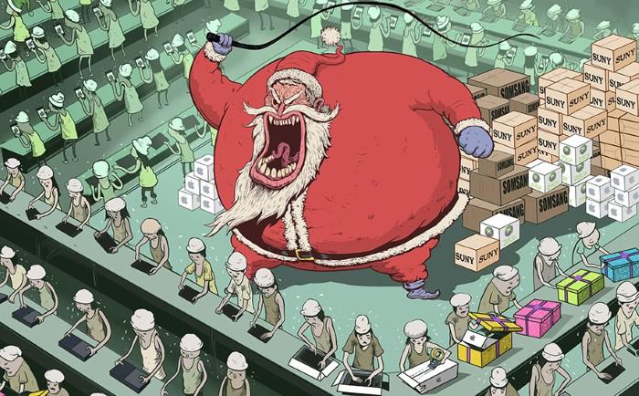 Steve Cutts ilustracie znazornujuce dnesny svet 11