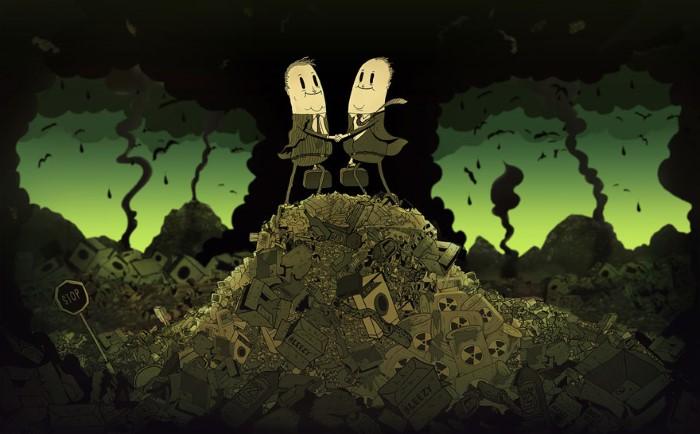 Steve Cutts ilustracie znazornujuce dnesny svet 13