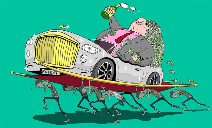Steve Cutts ilustracie znazornujuce dnesny svet 14