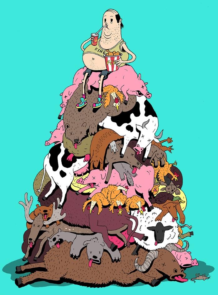 Steve Cutts ilustracie znazornujuce dnesny svet 16