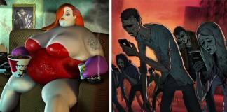 Smutná pravda o dnešnom svete, zachytená vo výstižných ilustráciách