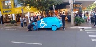 Toto sa stane, ak v Brazílii zaparkujete na mieste pre invalidov