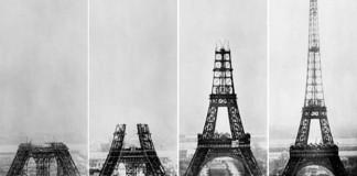 16 fotografií známych budov ešte predtým, než boli úplne dostavané!