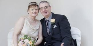 svadba Claire a Mark ktori su nevidiaci fb