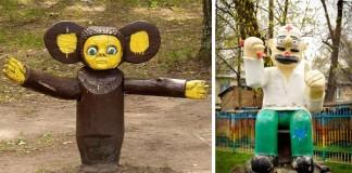32 detských ihrísk v Rusku, na ktoré by ste svoje deti pravdepodobne nechceli pustiť