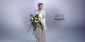 Ako sa menili svadobné šaty v priebehu 100 rokov