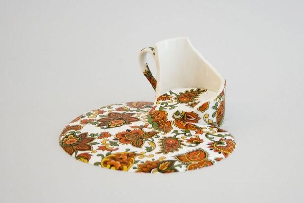 Livia Marin meni rozbity porcelan tekutym efektom na umenie 12