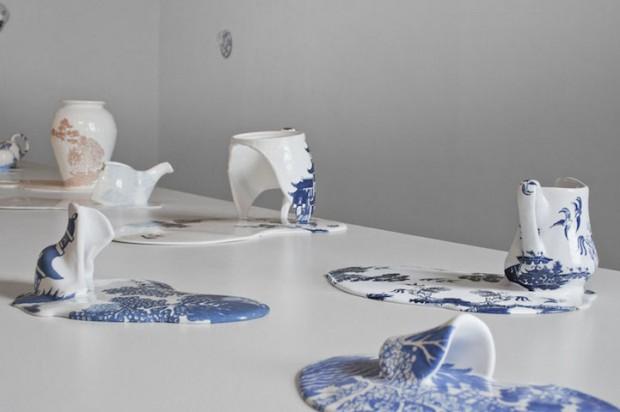 Livia Marin meni rozbity porcelan tekutym efektom na umenie 8