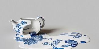 Keď sa rozbitý porcelán mení na tekuté umenie. Toto ste ešte nevideli!