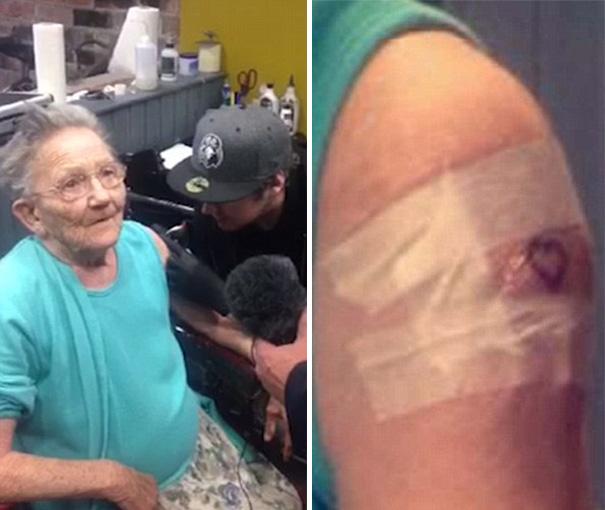 babicka Tony Sellers tetovanie 2