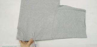 Ako si vyrobiť tašku z trička, ktorú nemusíš šiť