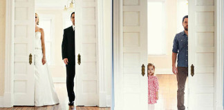 Rakovina im vzala mamičku: Muž nafotil so svojou dcérou rovnaké fotky ako pred rokmi so svojou manželkou v deň ich svadby