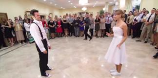svadobny tanec Karolina a Wojtek