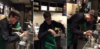 Autista dostal vysnenú prácu v kaviarni a každú zmenu tam tancuje