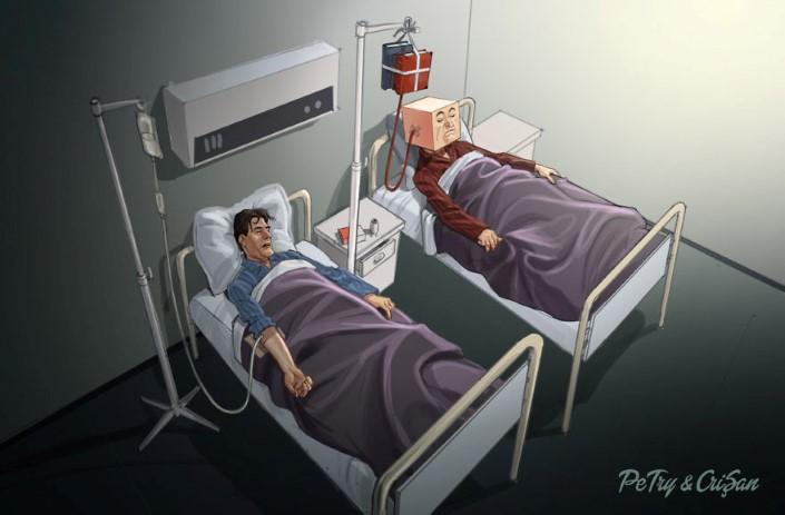 Petry Crisan satiricke ilustracie 7