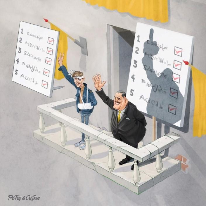 Petry Crisan satiricke ilustracie 9