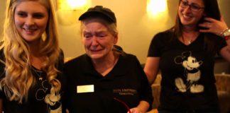 Kathryn Thompson prekvapenie pre bufetarku