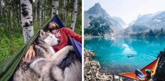 Tieto fotky slúžia ako inšpirácia, aby ľudia svojim psom dopriali viac dobrodruštva